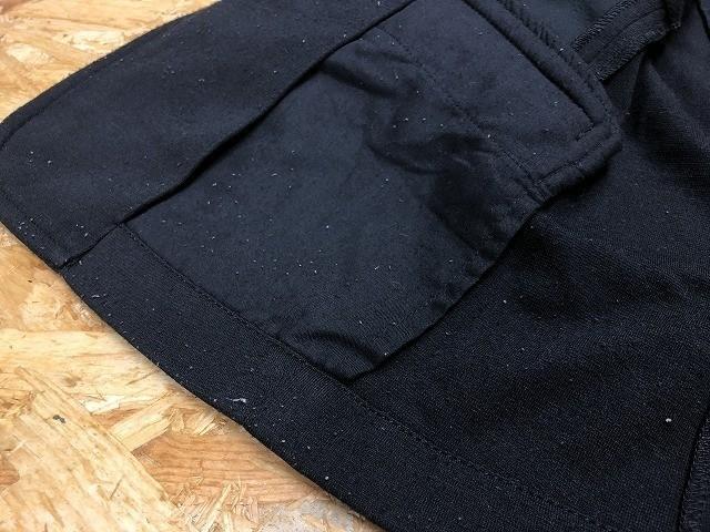 semantic design セマンティックデザイン L メンズ(レディース?) テーラードジャケット S/S 半端袖 ストレッチ センターベント ブラック_画像9