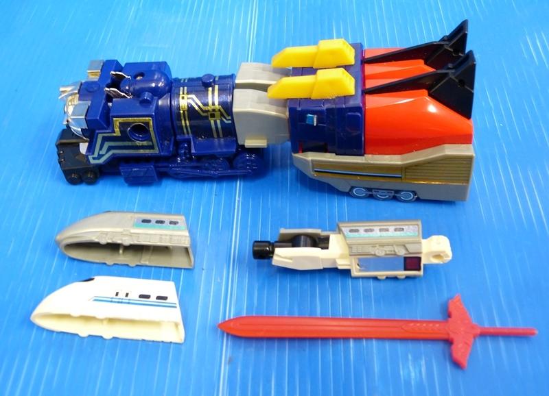 ● タカラ 勇者特急 マイトガイン 特急合体 STD スタンダード 玩具 おもちゃ 当時物 昭和 レトロ 状態価格 中古 ●_画像5