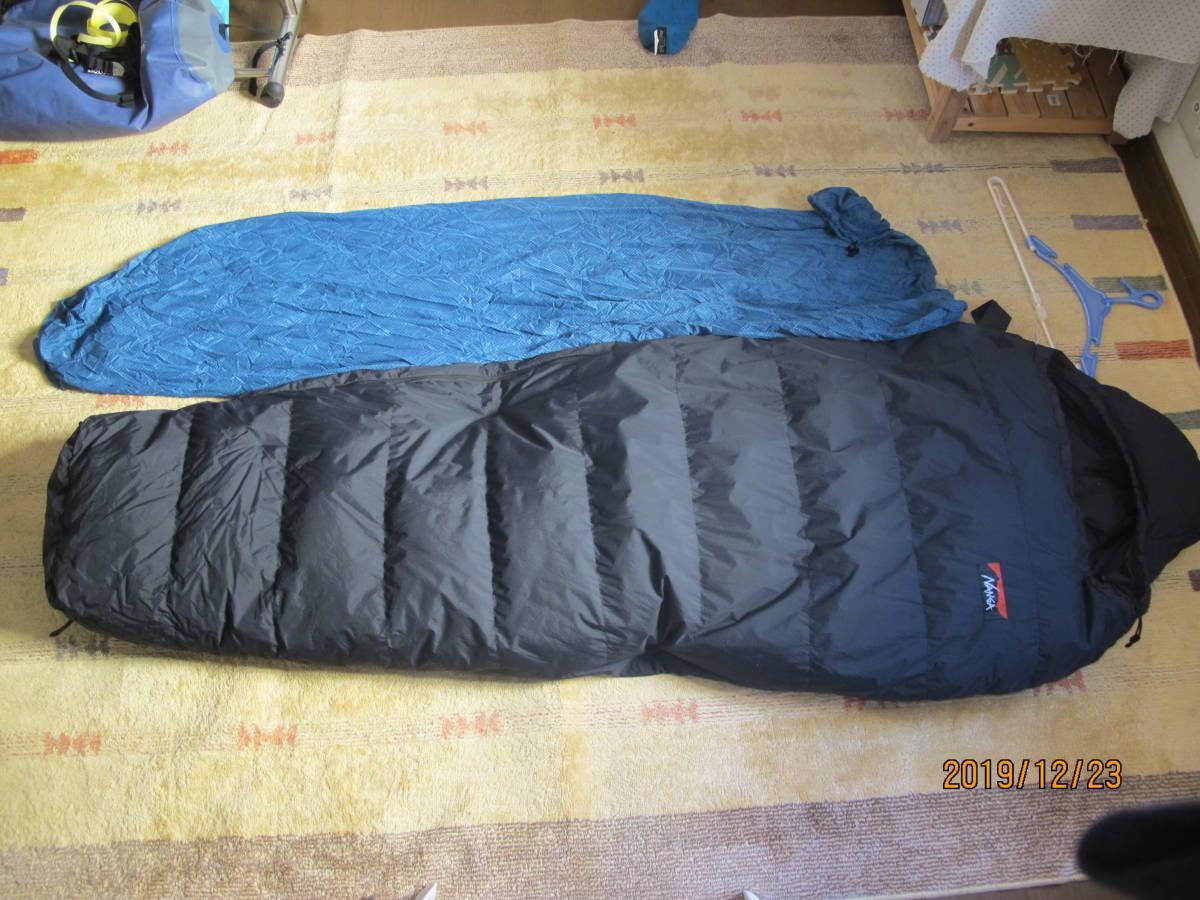 ナンガシュラフ(寝袋冬季用)NANGAオ-ロラ450(黒)ユ-ズドで?#24037;ⅳ欷い扦埂%ぅ螗剩伐濂楗?#31561;が付属します。