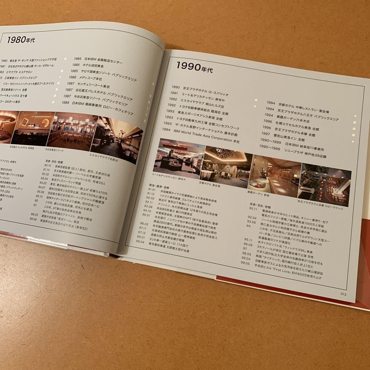 【送料無料】インテリア/建築本「北原進のモダニズム/インテリア・デザイン1960~2000年代 半世紀の軌跡」2018年10月第1刷発行_画像7