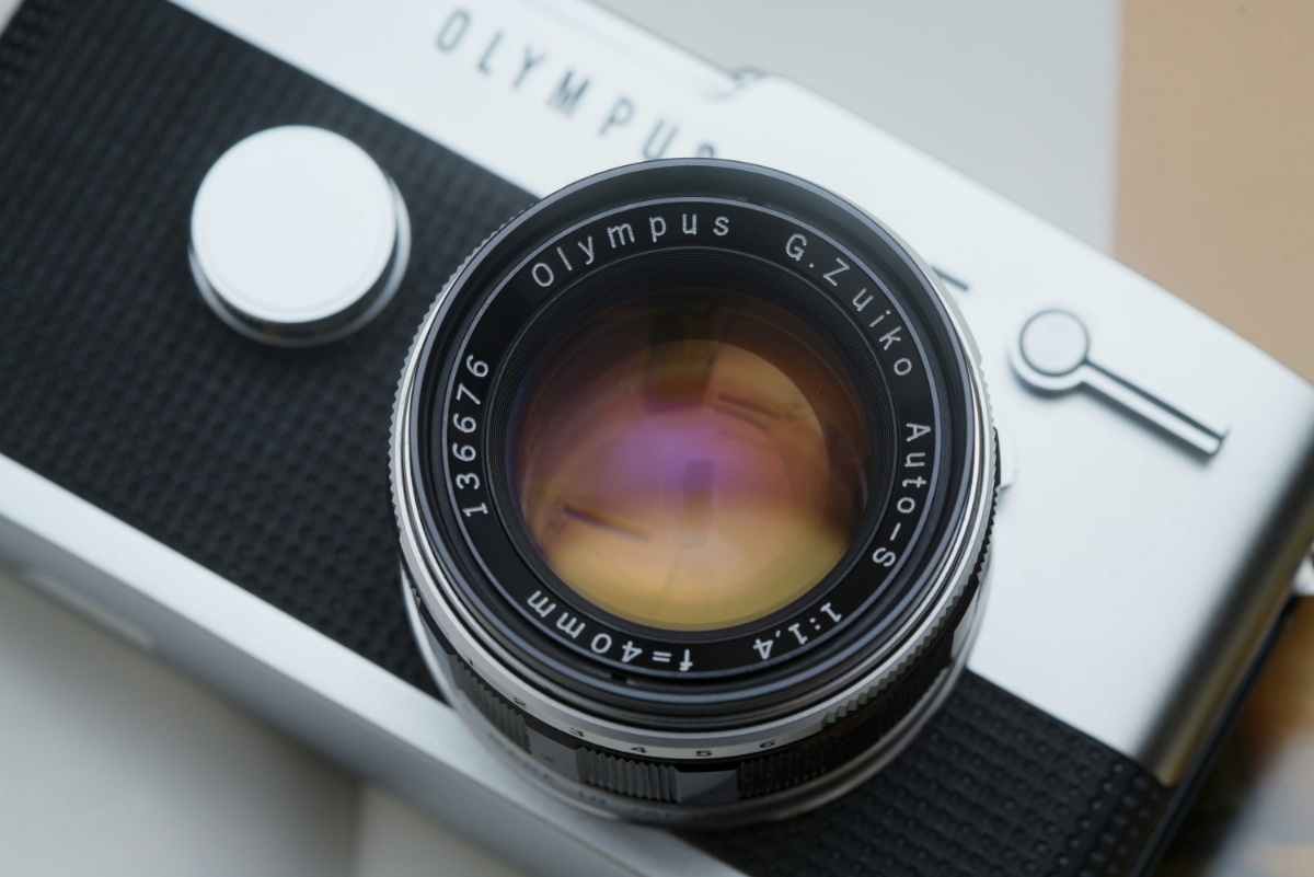 極上美品 OLYMPUS PEN-FT オリンパス ペンFT F.Zuiko Auto-S 1:1.4 f=40mm