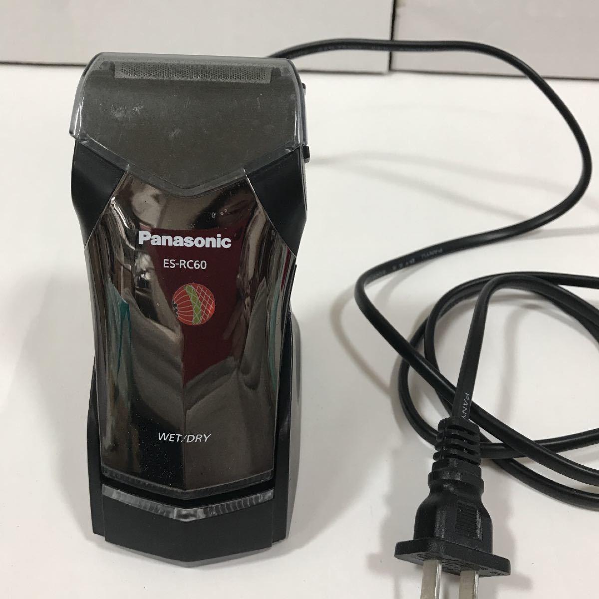 パナソニック Panasonic 電気シェーバー  ESーRC60 海外用