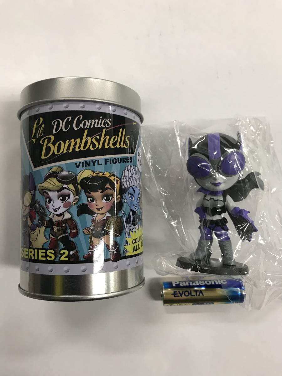 DC Comics Lil Bombshells ビニールフィギュア バットガール ソフビ シリーズ2 シークレット ホットトイズ_画像1