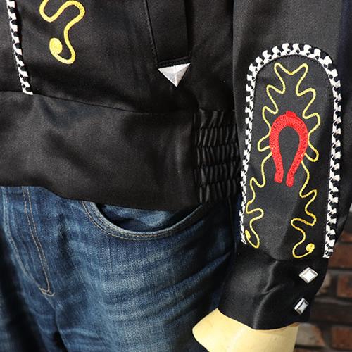 ●送料無料● DRY BONES/ドライボーンズ ◆ウェスタンジャケット◆【L】検索:ロックンロール ロカビリー 50'S ブライアンセッツァー_画像4