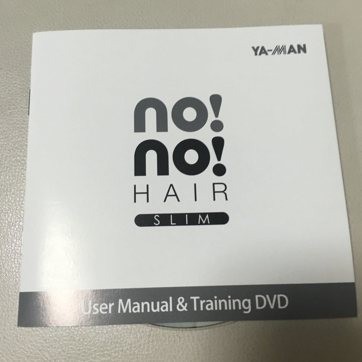 ヤーマン no!no!hair slim ピンク 中古
