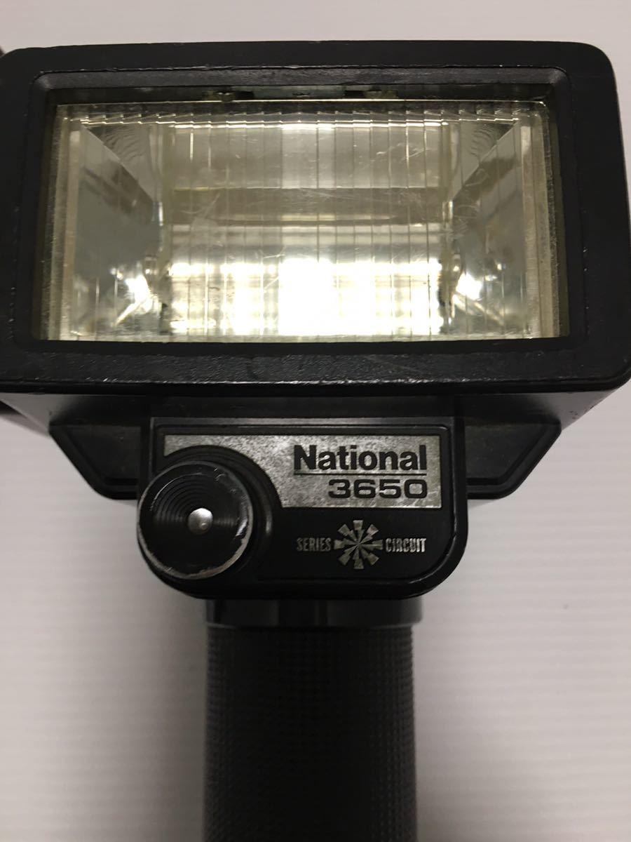 【動作未確認】Nikon F シルバー フィルムカメラ national3650 フラッシュ、レンズ付 NIKKOR-S 1:1.4 ジャンク_画像10