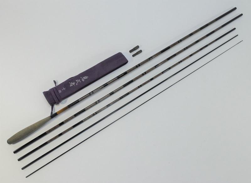 Daiwa ダイワ 鬼武者 十四 14尺 5本継 ヘラブナ へら竿 和竿 ロッド 釣り竿 釣具 袋付き