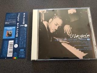 D'ANGELO ディアンジェロ「LIVE +1」国内盤CD【帯付き】ボーナストラック収録 / NEW CLASSIC SOUL / NEO SOUL / R&B_画像1