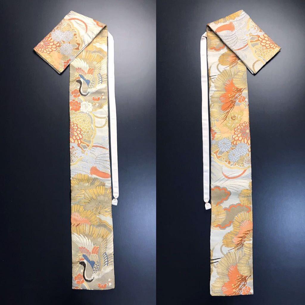 限定4本 日本刀 太刀 刀 刀袋 豪華 金彩 鶴紋 職人ハンドメイド 100% 正絹使用 一点物 c-2_画像9