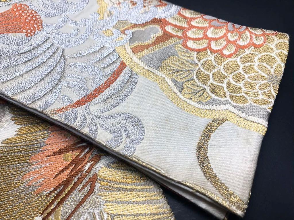 限定4本 日本刀 太刀 刀 刀袋 豪華 金彩 鶴紋 職人ハンドメイド 100% 正絹使用 一点物 c-2_画像10