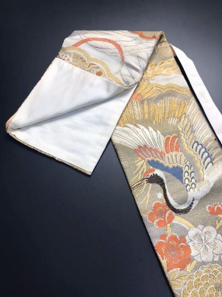 限定4本 日本刀 太刀 刀 刀袋 豪華 金彩 鶴紋 職人ハンドメイド 100% 正絹使用 一点物 c-2_画像5