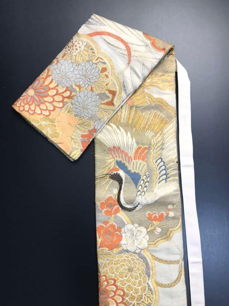 限定4本 日本刀 太刀 刀 刀袋 豪華 金彩 鶴紋 職人ハンドメイド 100% 正絹使用 一点物 c-2_画像2