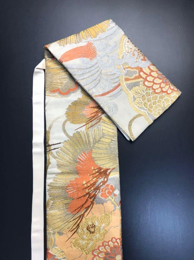 限定4本 日本刀 太刀 刀 刀袋 豪華 金彩 鶴紋 職人ハンドメイド 100% 正絹使用 一点物 c-2_画像6