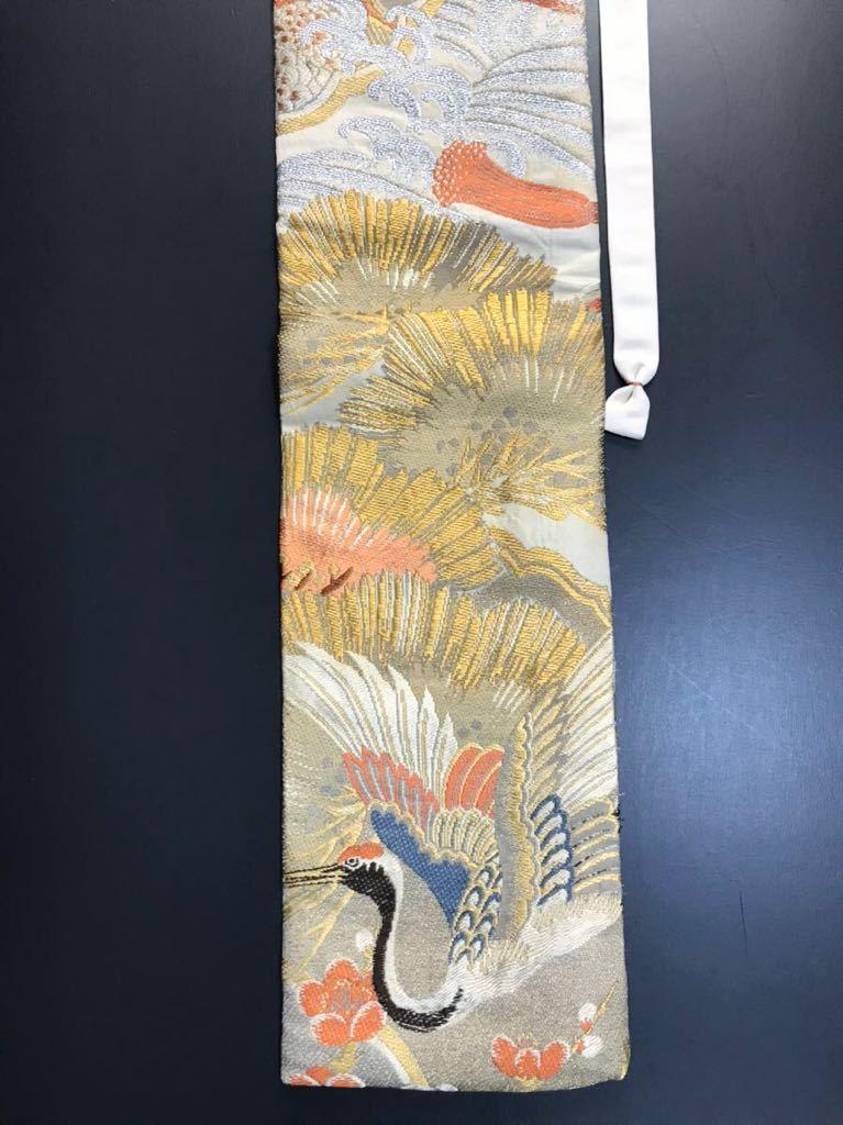 限定4本 日本刀 太刀 刀 刀袋 豪華 金彩 鶴紋 職人ハンドメイド 100% 正絹使用 一点物 c-2_画像4