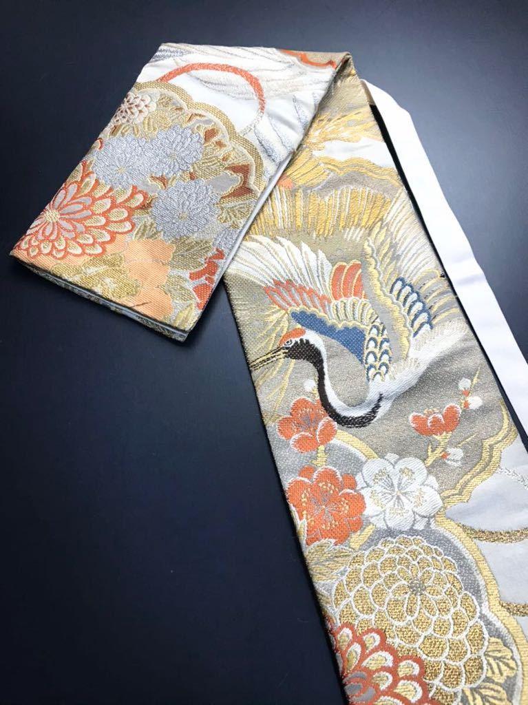 限定4本 日本刀 太刀 刀 刀袋 豪華 金彩 鶴紋 職人ハンドメイド 100% 正絹使用 一点物 c-2_画像1