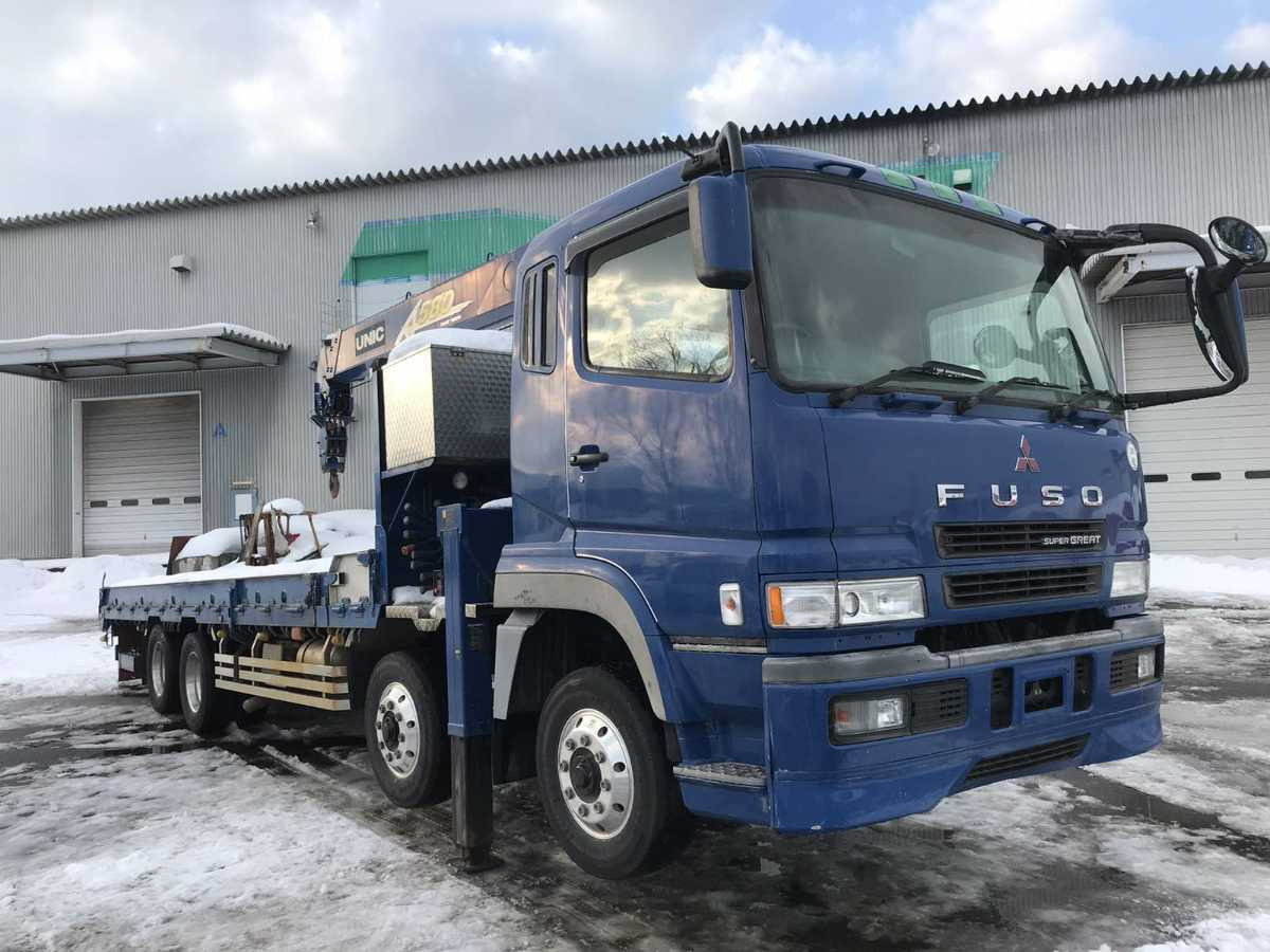 「ふそう スーパーグレード 大型トラック 2000年 クレーン 580クレーン3段 ラジコンなし 6MT 税込み」の画像2