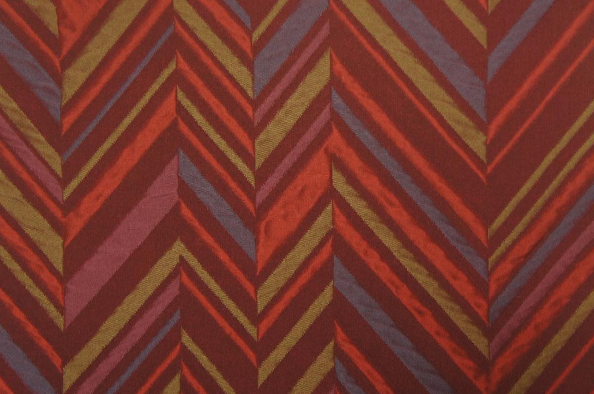 『紫紘』赤紫色ふくれ織杉綾模様袋帯[O12064]_『紫紘』赤紫色ふくれ織杉綾模様袋帯