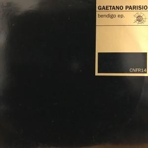 12inchレコード GAETANO PARISIO / BENDIGO EP