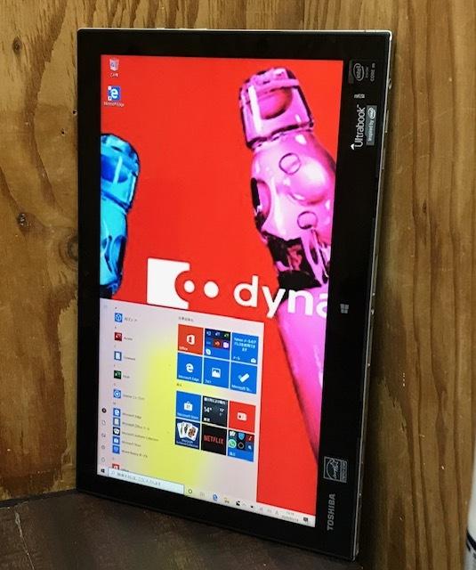 ★★東芝 dynabook R82/Core M-5Y31/メモリ4GB/SSD128GB/Win10/Office/タッチパネル搭載/ドッキングキーボード/FULL HD★_画像3