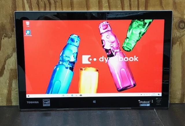 ★★東芝 dynabook R82/Core M-5Y31/メモリ4GB/SSD128GB/Win10/Office/タッチパネル搭載/ドッキングキーボード/FULL HD★_画像2