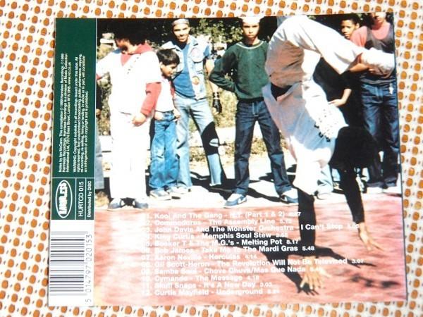 廃盤 Cutmaster Swift The Breaks 2 Original B Boy Street Funk & Block Party Classics 名コンピ Cymande Gil Scott-Heron Skull Snaps