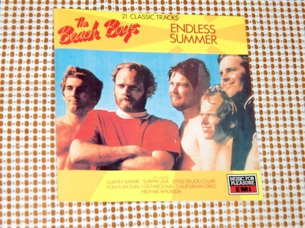 廃盤 The Beach Boys ビーチ ボーイズ Endless Summer / Surfer Girl You're So Good To Me Good Vibrations Wendy 等21曲収録 良コンピ