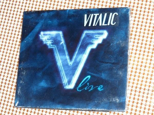 廃盤 日本語解説付属 Vitalic ヴィタリック V Live / フレンチ エレクトロ ~ スペース テクノ 才人 ライヴ盤/ Polkamatic 等収録