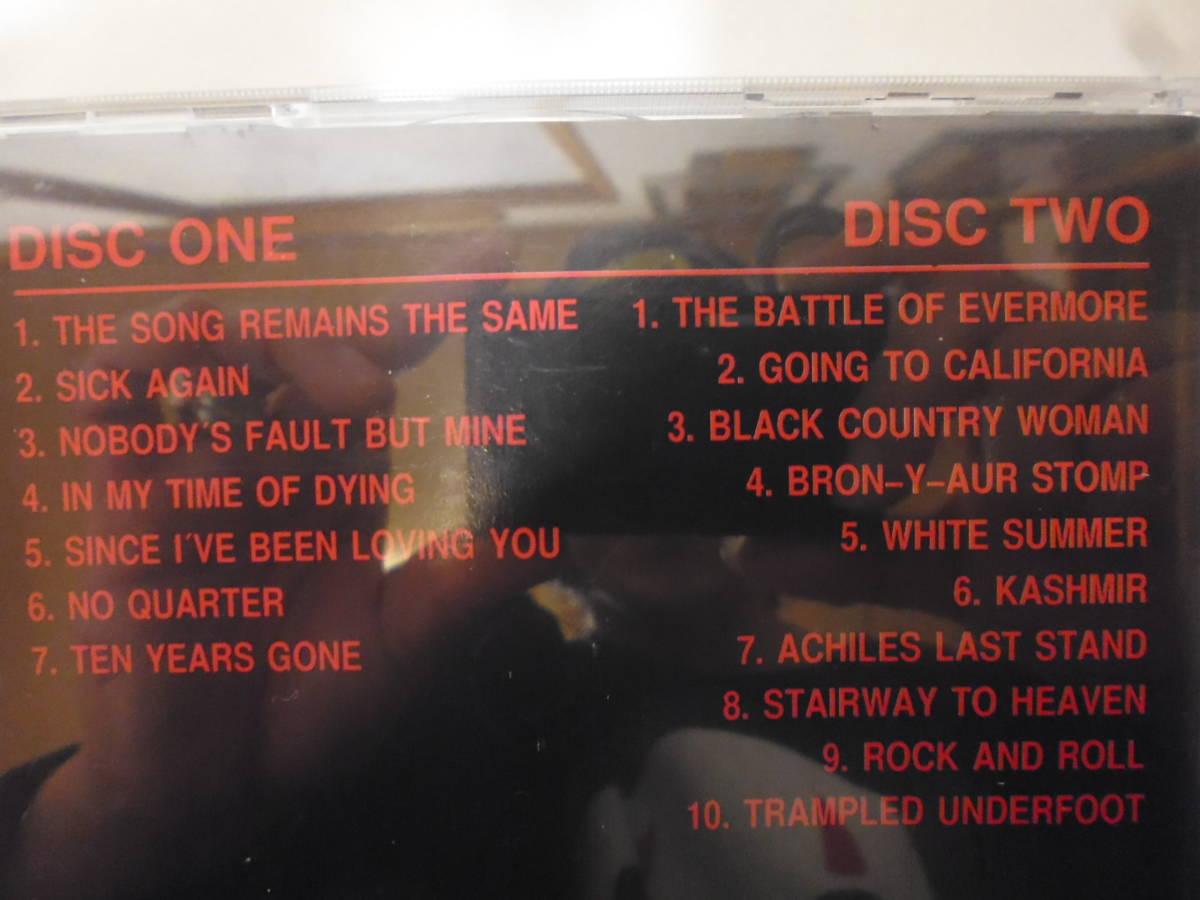 Led Zeppelin レッドツェッペリン DESTROYER 1977年 ブートレグ 2CD _画像3