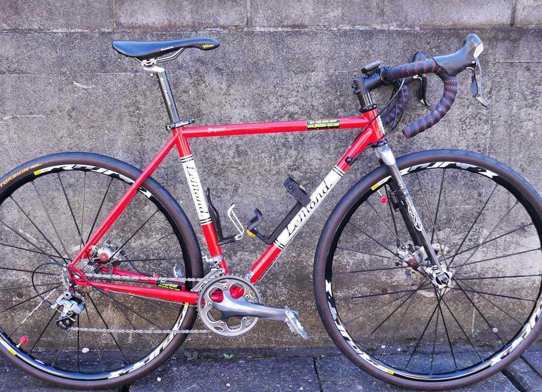 LEMOND Racing Cycle Poprad Disc 中古 ☆即決でMAVIC CROSSMAX XL 付き☆ シクロクロス グラベルロード ディスクブレーキロード_画像10