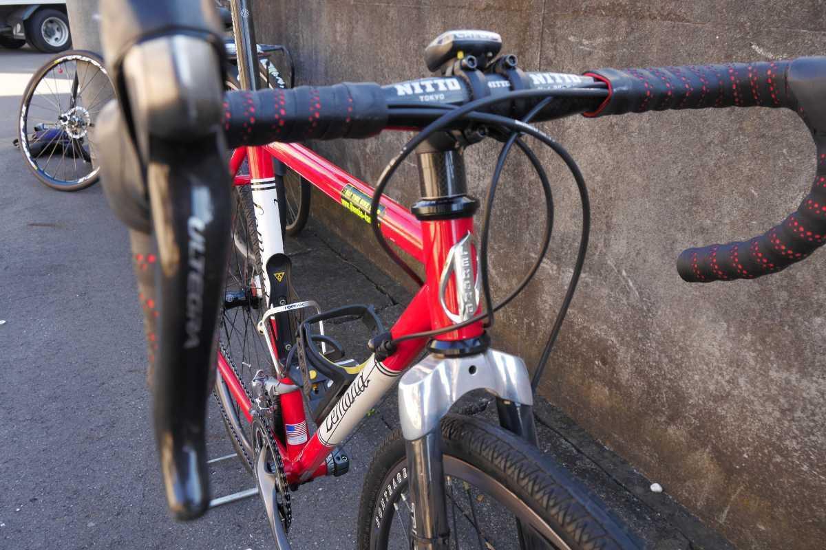 LEMOND Racing Cycle Poprad Disc 中古 ☆即決でMAVIC CROSSMAX XL 付き☆ シクロクロス グラベルロード ディスクブレーキロード_画像2