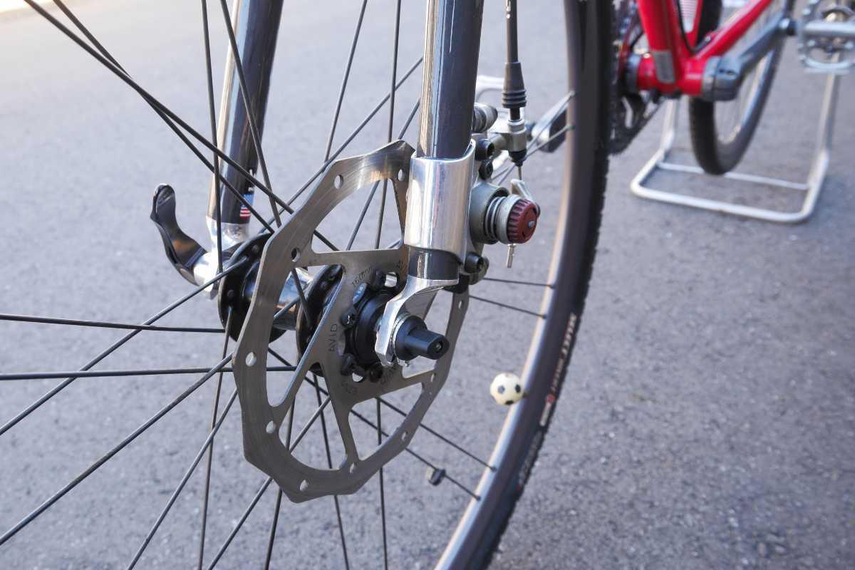 LEMOND Racing Cycle Poprad Disc 中古 ☆即決でMAVIC CROSSMAX XL 付き☆ シクロクロス グラベルロード ディスクブレーキロード_画像5