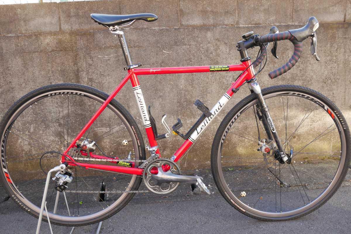 LEMOND Racing Cycle Poprad Disc 中古 ☆即決でMAVIC CROSSMAX XL 付き☆ シクロクロス グラベルロード ディスクブレーキロード_画像1