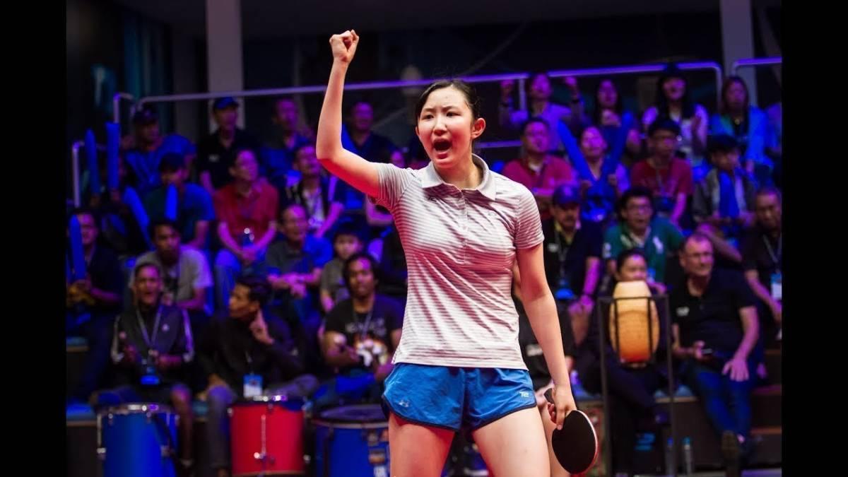 全日本選手権卓球女子優勝記念 早田ひな L版写真7枚 巨乳_画像3