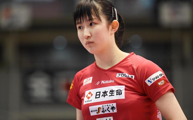 全日本選手権卓球女子優勝記念 早田ひな L版写真7枚 巨乳_画像5