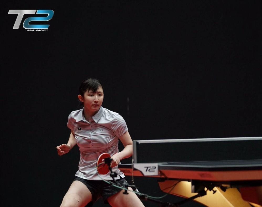 全日本選手権卓球女子優勝記念 早田ひな L版写真7枚 巨乳_画像2