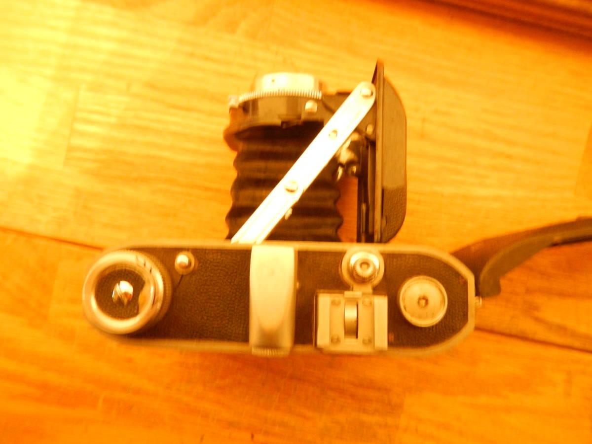 送料込 ミノルタMinolta 蛇腹式 中版カメラKONAN-FLICKER レンズchiyoko promar.sⅡ1:3.5f=75mm 中古現状_画像7