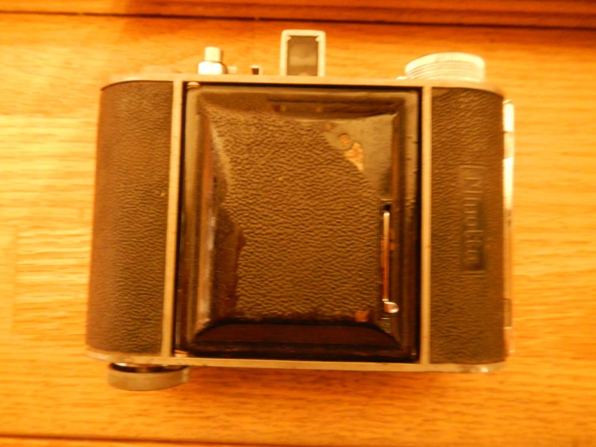 送料込 ミノルタMinolta 蛇腹式 中版カメラKONAN-FLICKER レンズchiyoko promar.sⅡ1:3.5f=75mm 中古現状_画像9