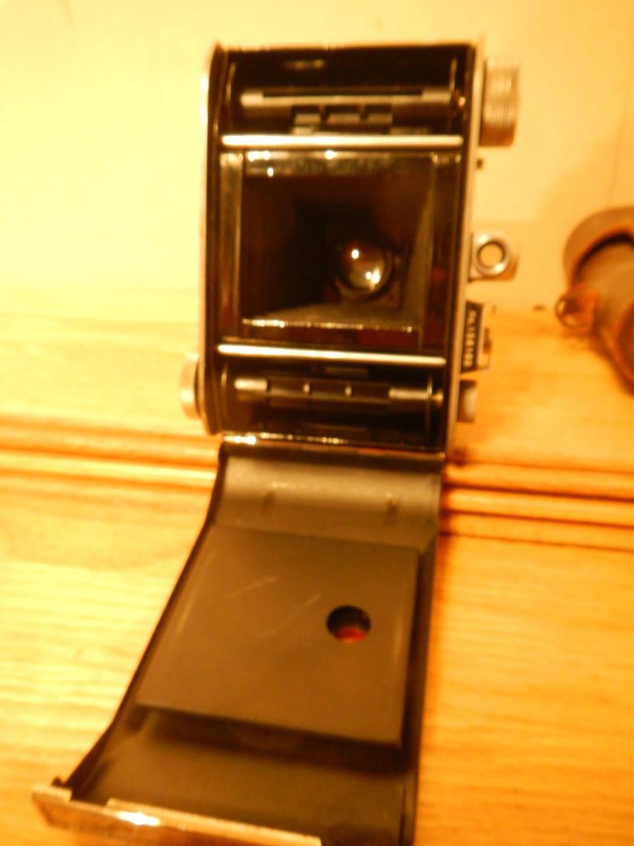 送料込 ミノルタMinolta 蛇腹式 中版カメラKONAN-FLICKER レンズchiyoko promar.sⅡ1:3.5f=75mm 中古現状_画像6