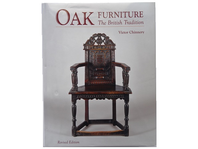 洋書◆オーク材の家具写真集 本 アンティーク 椅子 チェア テーブル チェスト ほか_画像1
