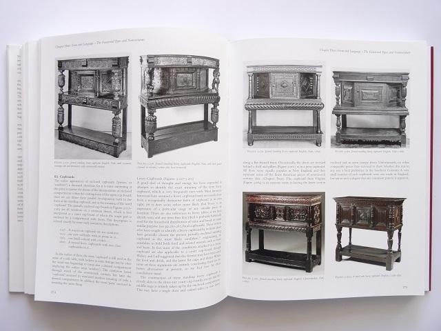 洋書◆オーク材の家具写真集 本 アンティーク 椅子 チェア テーブル チェスト ほか_画像5