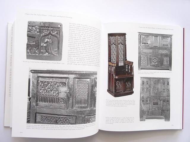 洋書◆オーク材の家具写真集 本 アンティーク 椅子 チェア テーブル チェスト ほか_画像8