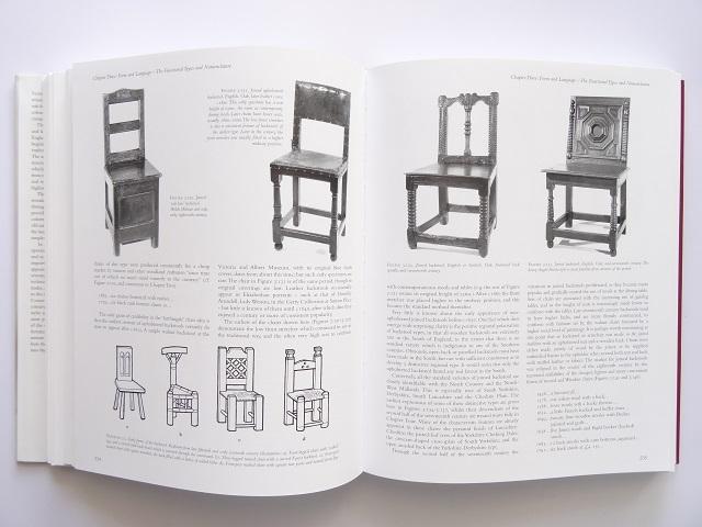 洋書◆オーク材の家具写真集 本 アンティーク 椅子 チェア テーブル チェスト ほか_画像4