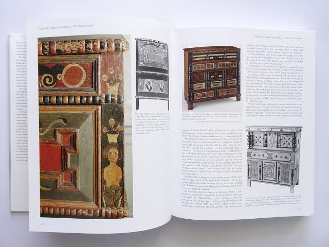 洋書◆オーク材の家具写真集 本 アンティーク 椅子 チェア テーブル チェスト ほか_画像3