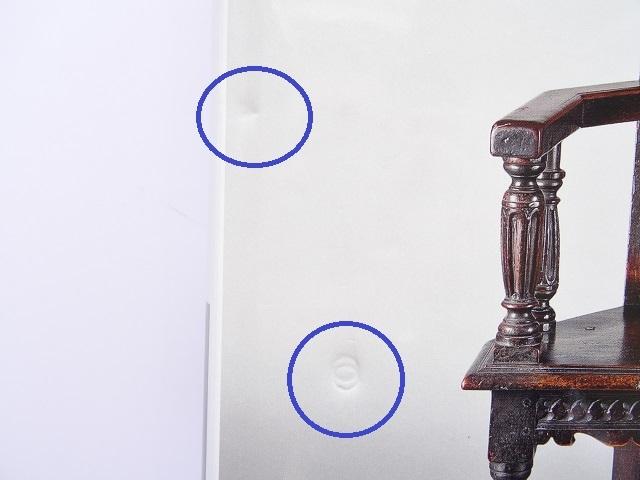 洋書◆オーク材の家具写真集 本 アンティーク 椅子 チェア テーブル チェスト ほか_画像10