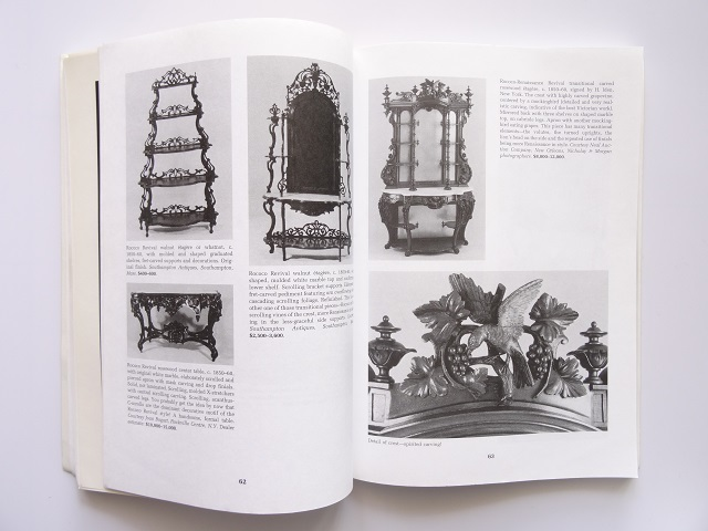洋書◆ビクトリア期の家具写真集 本 アンティーク 椅子 チェア テーブル チェスト ほか_画像6