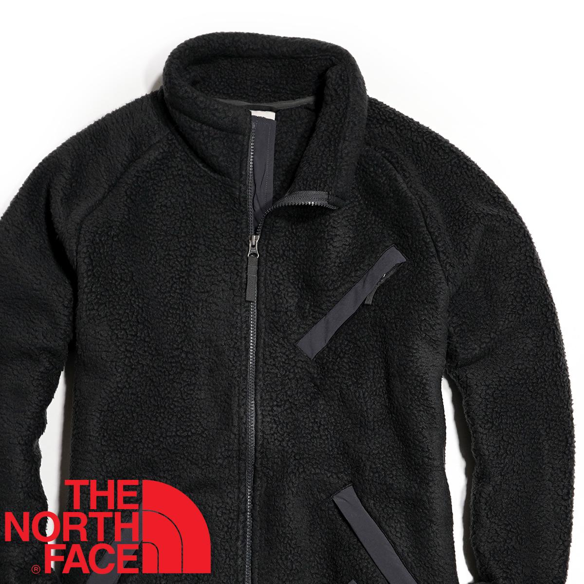 【新品本物 USA購入】THE NORTH FACE ノースフェイス ■ Cragmont Fleece ■ ブラック / L ■シェルパ フリースジャケット 海外限定_画像4