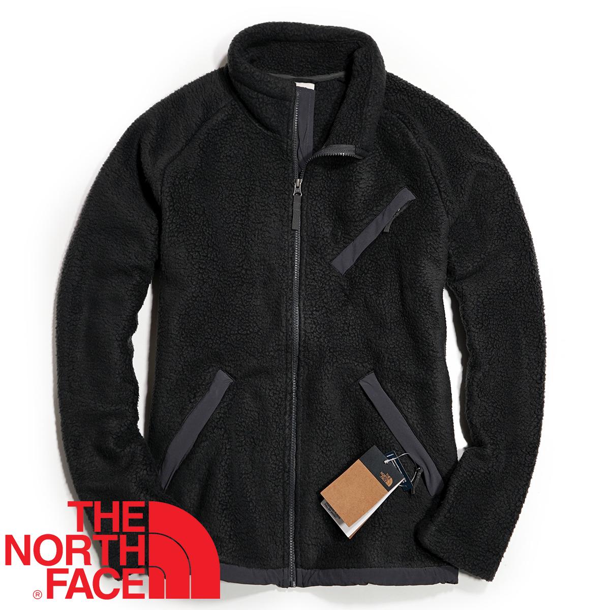 【新品本物 USA購入】THE NORTH FACE ノースフェイス ■ Cragmont Fleece ■ ブラック / L ■シェルパ フリースジャケット 海外限定_画像3