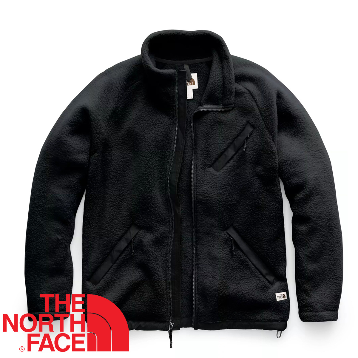 【新品本物 USA購入】THE NORTH FACE ノースフェイス ■ Cragmont Fleece ■ ブラック / L ■シェルパ フリースジャケット 海外限定_画像2