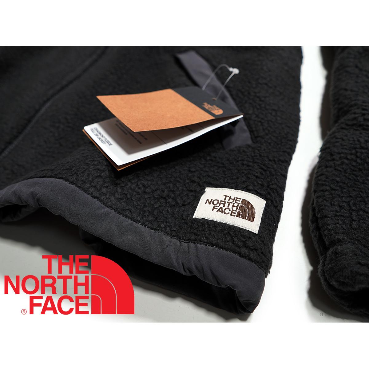 【新品本物 USA購入】THE NORTH FACE ノースフェイス ■ Cragmont Fleece ■ ブラック / L ■シェルパ フリースジャケット 海外限定_画像6