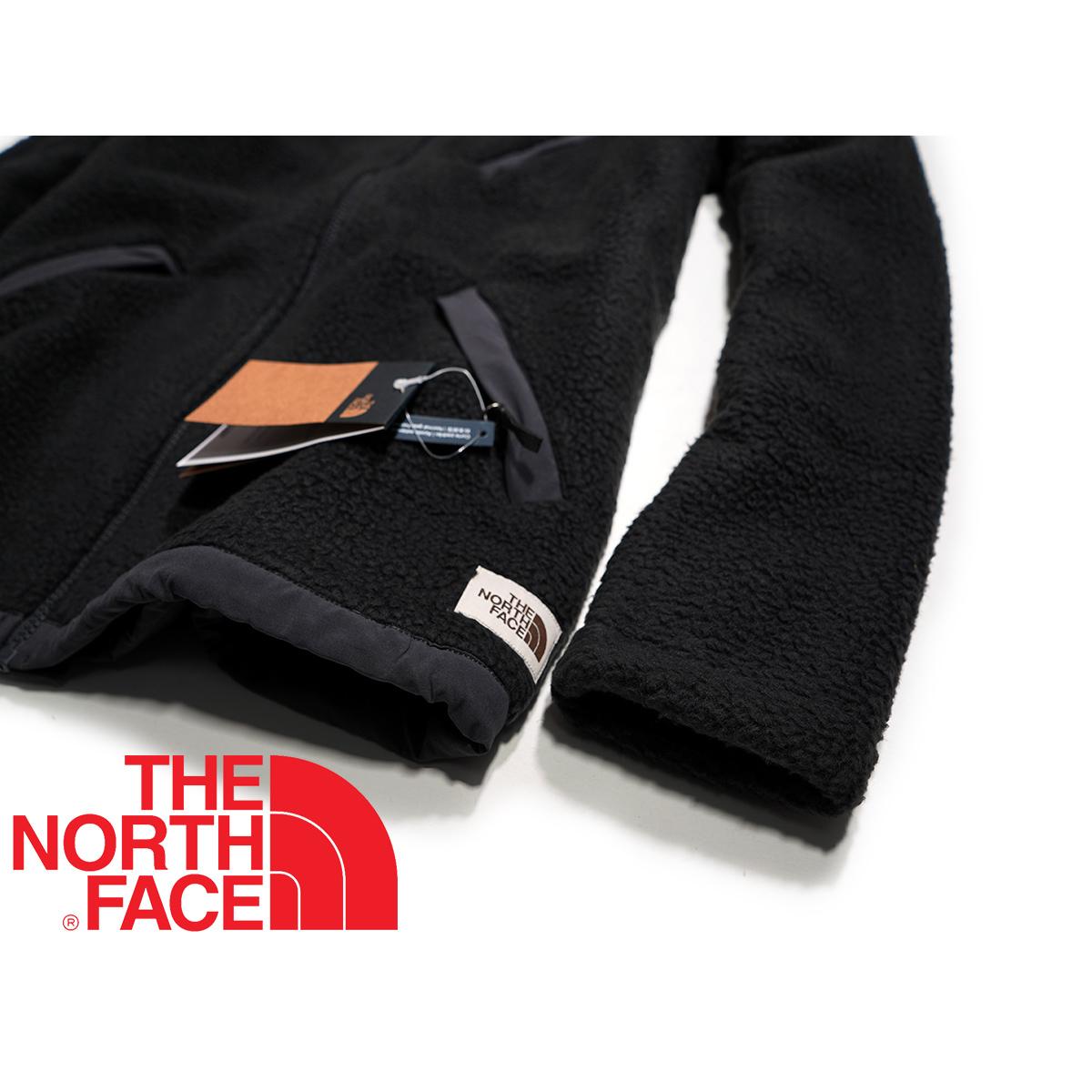 【新品本物 USA購入】THE NORTH FACE ノースフェイス ■ Cragmont Fleece ■ ブラック / L ■シェルパ フリースジャケット 海外限定_画像9